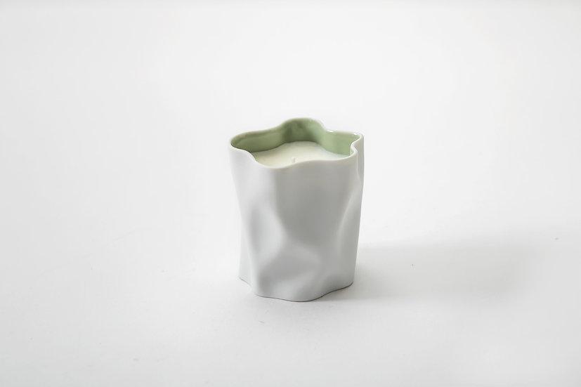 六境香蠟・雪 - CRINKLE CANDLE Yuki