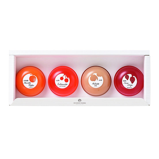 Premium Fruit Jelly Set