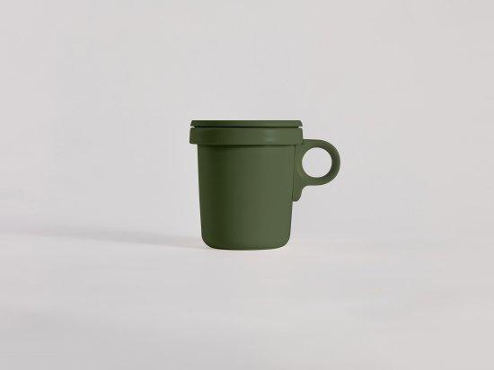 Enamel Hook Mug Khaki