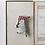 Thumbnail: Torinoko Wooden Brooch Sheep B Flag