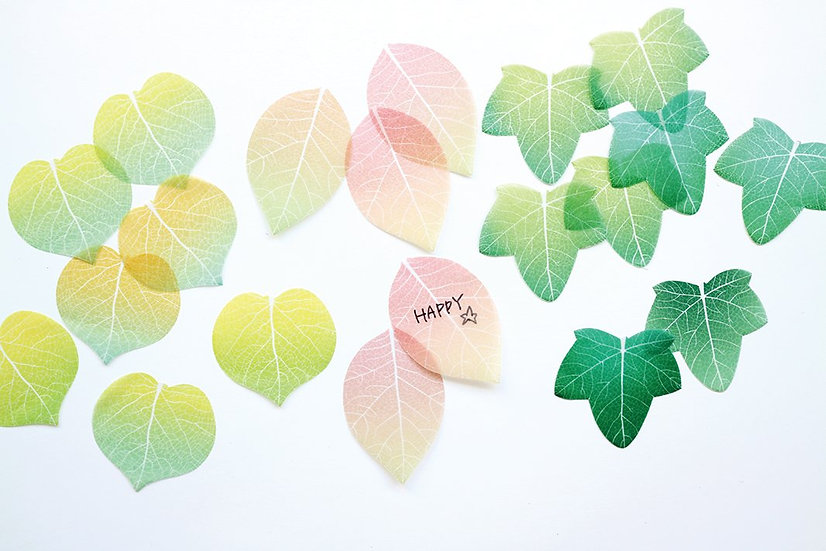 Mini Leaf Memo Sticker