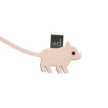 Animal Bookmark Pig