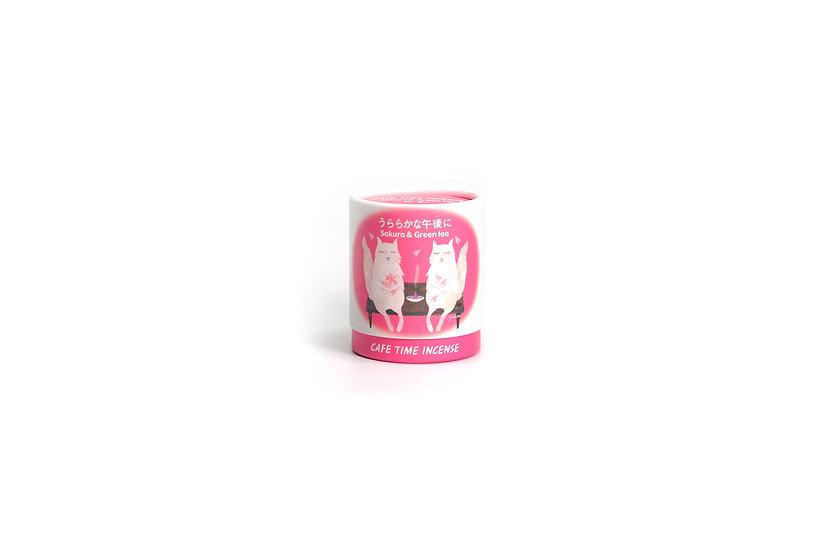 Cone Incense | Sakura and Green tea