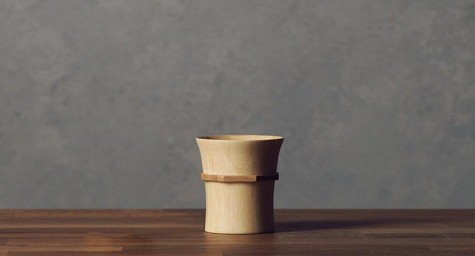 Bamboo Tumbler S - Natural White