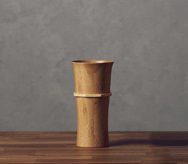 Bamboo Tumbler L - Smoky Brown