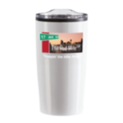 Red Mile Coffee Cup White