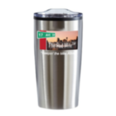 Red Mile Coffee Cup Stainless Steel