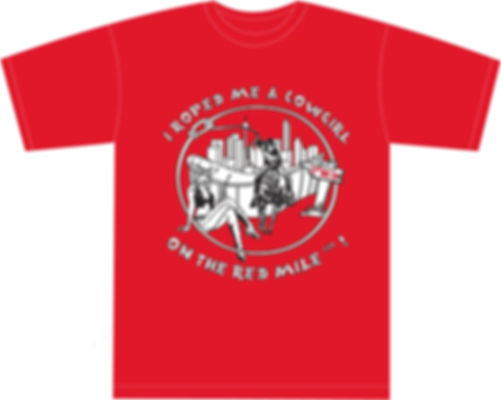 Red Mile T-Shirt - Cowgirl Classic 2004 Limited Edition
