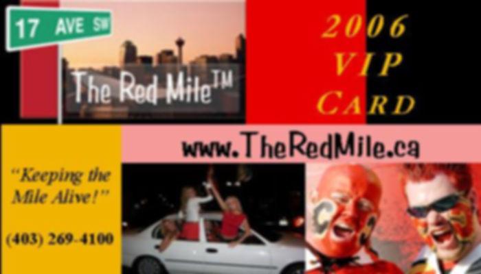 Red Mile VIP Card - Annual Membership