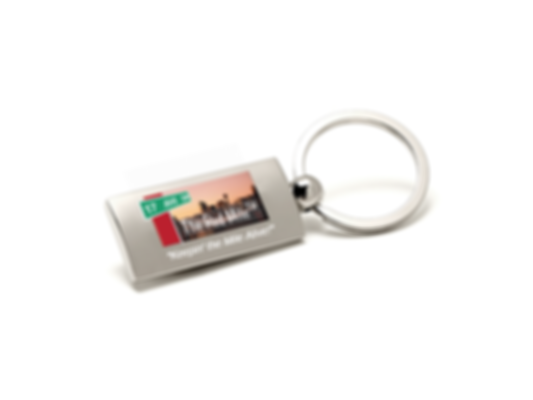 Red Mile Key Chain