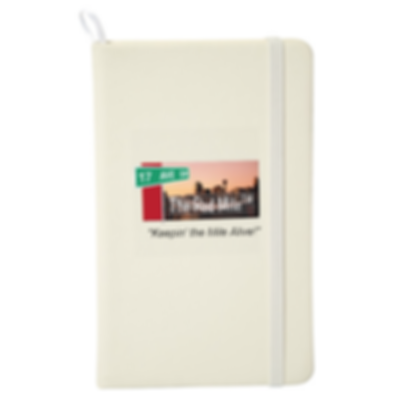 Red Mile Notebook White