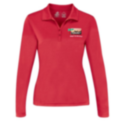 Red Mile Women's Performance Long Sleeve Polo