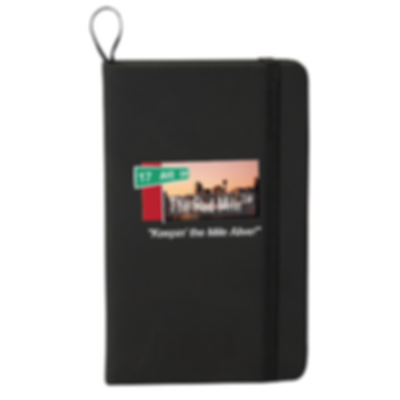 Red Mile Notebook Black