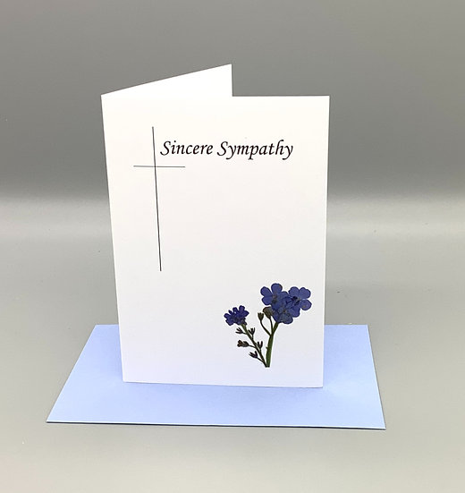 Sincere Sympathy - Forget-me-not