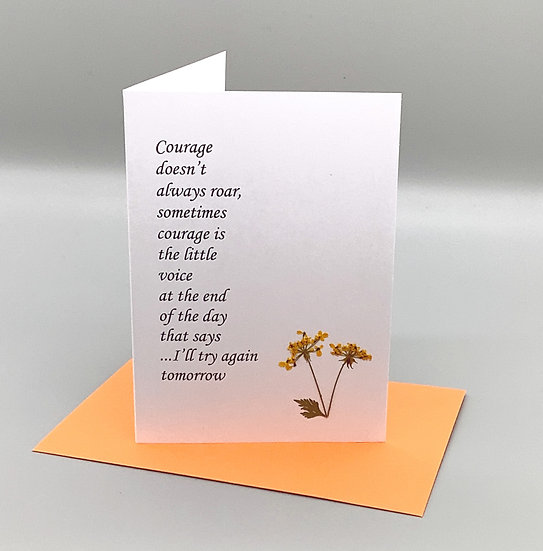 Courage - Queen Anne's Lace