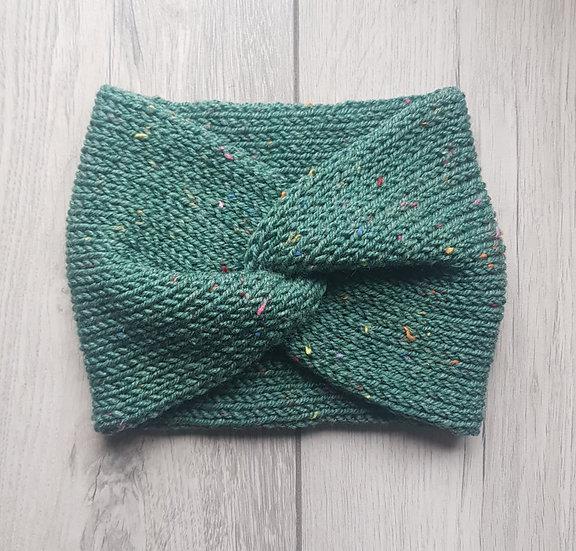 Handmade Knit Headband - Meadow