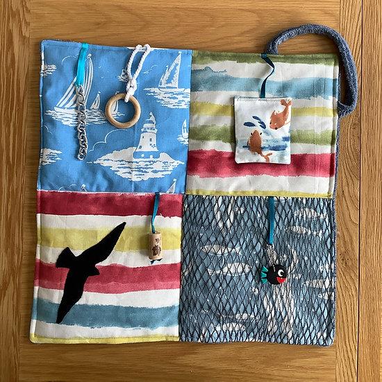 Mini Fidget Blanket - Call of the sea