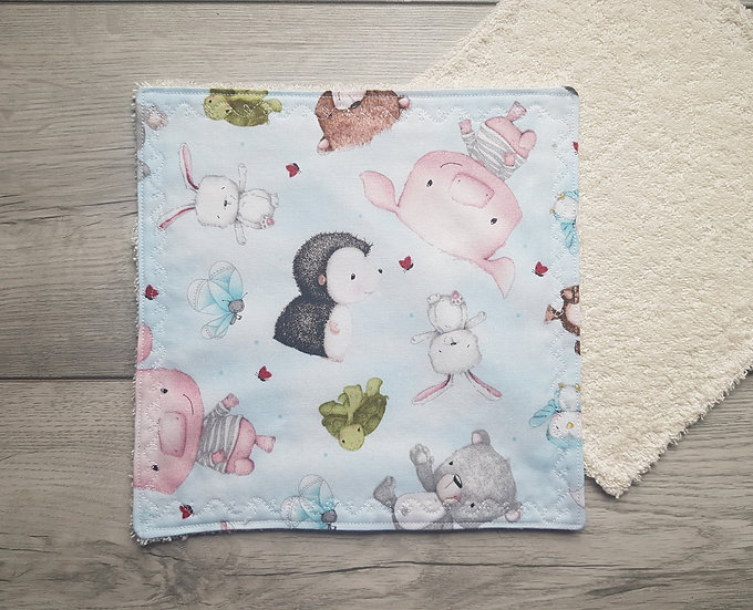 Face towel - Woodland Animals