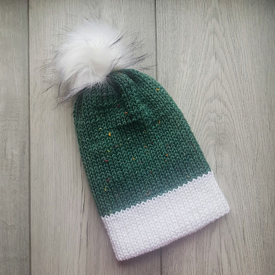 Handmade Knit Hat - Meadow