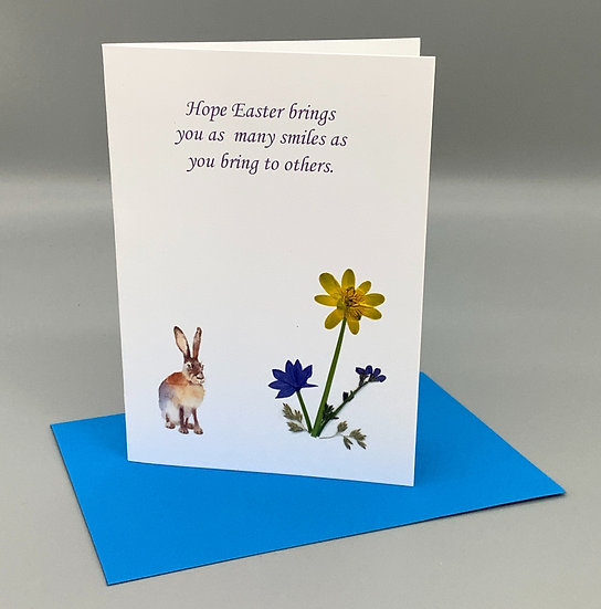Easter Greetings - Mixed flowers