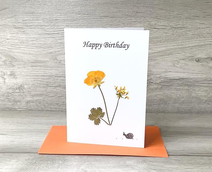 Happy Birthday - Buttercup