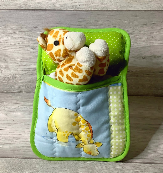 Ted in a Bed - Happy Giraffe