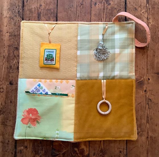 Mini Fidget Blanket - Cinnamon Swirl