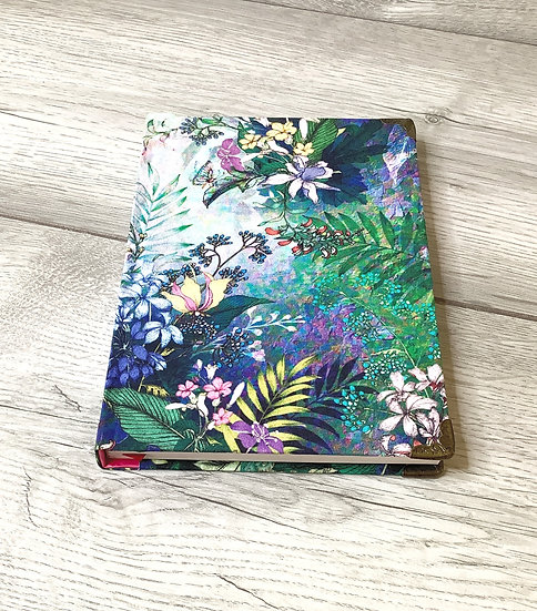 A5 Fabric Covered Notebook - Enchanted