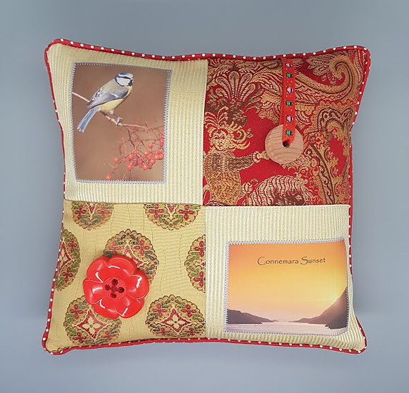 Fidget Cushion ~ Connemara Sunset