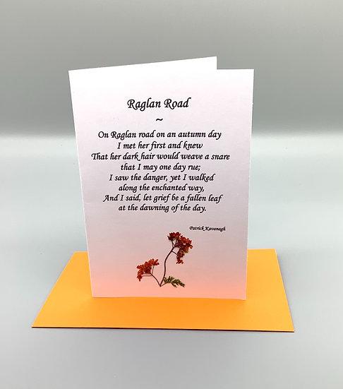 Raglan Road - Patrick Kavanagh