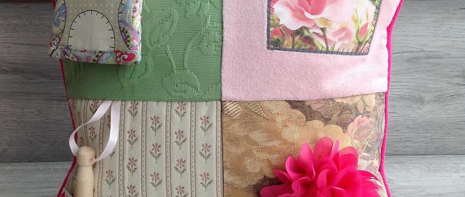 Fidget Cushion ~ Summer Garden