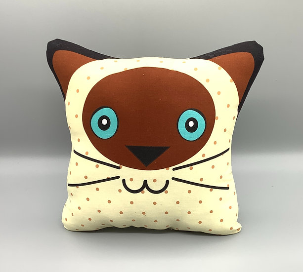 Cat Cushion -Creamy Cat