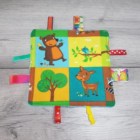 Small Tag Square - Bear Essentials