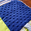 Thumbnail: Fidget Blanket in shades of Blue