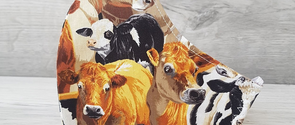 Large Face Covering - We 'herd' you need a face covering!