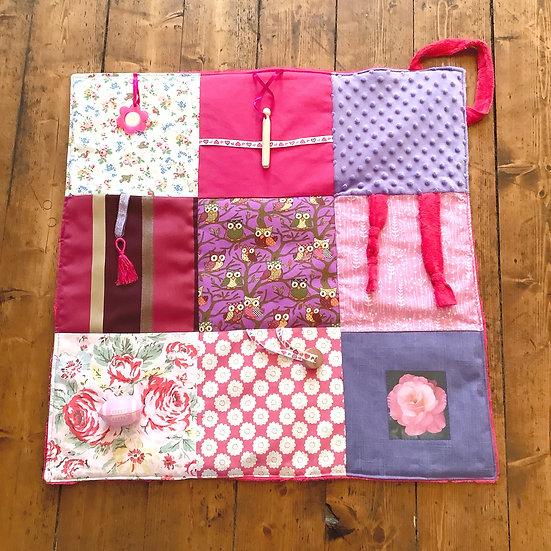 Fidget Blanket - In the Pink