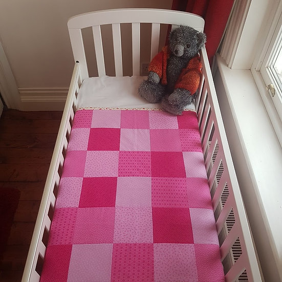 Patchwork Blanket - A Study in Pink