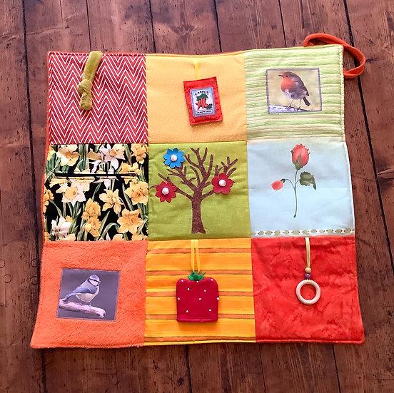 Fidget Blanket - Spring
