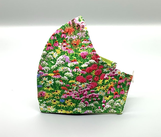 Medium Face Covering - Wildflowers
