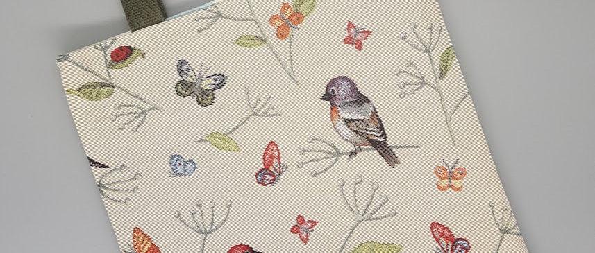 Tote Bag - Birds & Butterflies