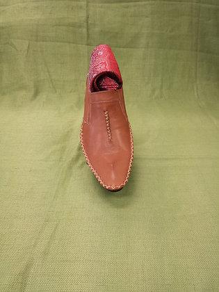 Cognac Fashion  Shoe