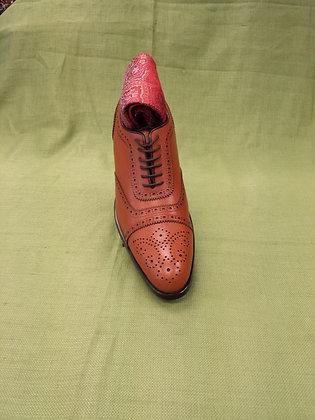 Tan British Brogue Shoe