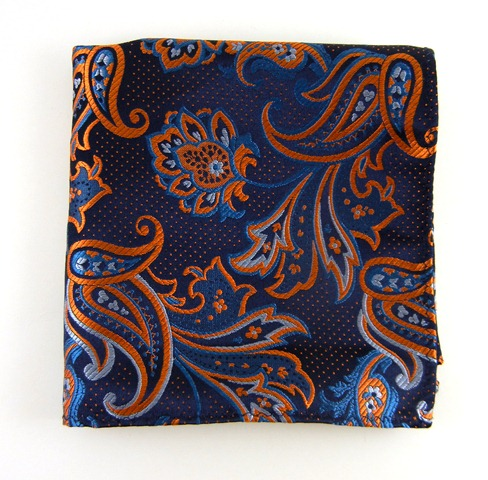 H1-2 Pin paisley orange