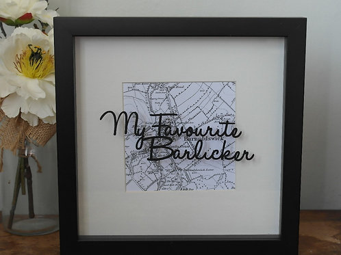 My Favourite Barlicker Papercut