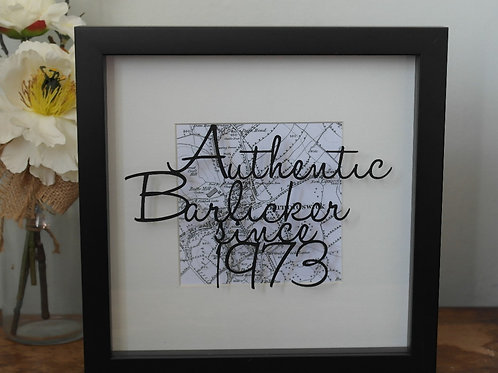 Authentic Barlicker since..... Papercut