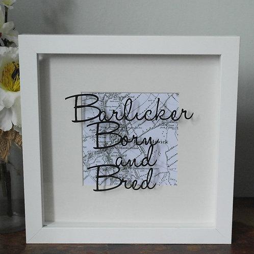 Barlicker Born and Bred Papercut