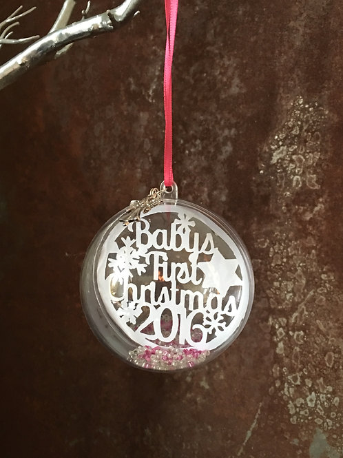 Baby's First Christmas - bauble