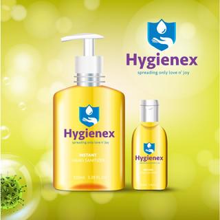 Logo design for sanitizer product