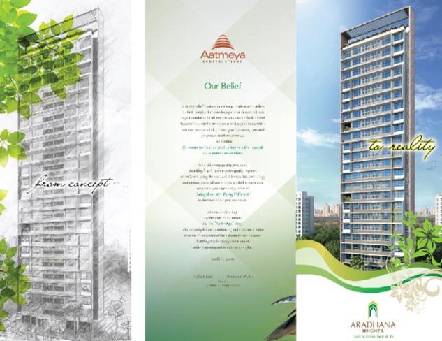 Folder design for Real estate project