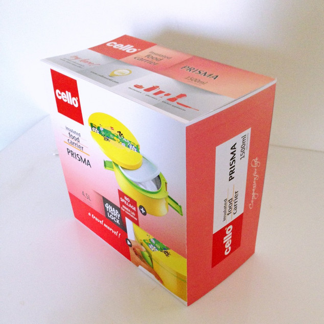 Cello Thermoware Packaging Template
